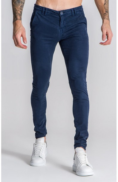 Blue Navy Core Chino Trousers