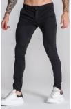 Black Core Chino Trousers