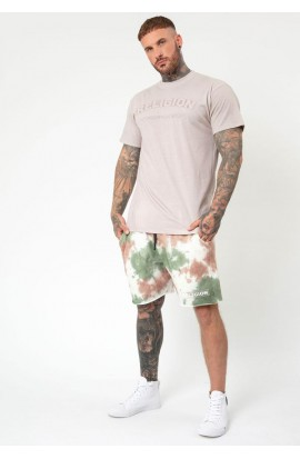TRANSFER T-SHIRT TAUPE