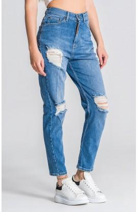Medium Blue Core Mom Fit Jeans