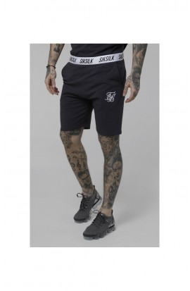 SikSilk  Taped Jersey Shorts - Grey